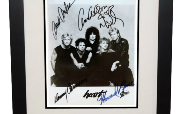 #2-Heart Signed 8×10 Photograph