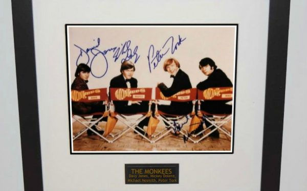Monkees Signed 8×10 Photograph