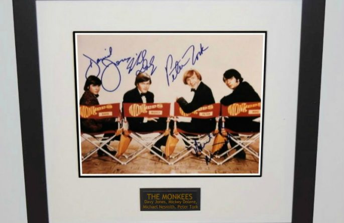#1 Monkees Signed 8×10 Photograph