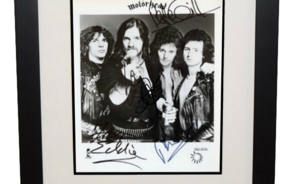 Motorhead Signed 8×10 Photograph