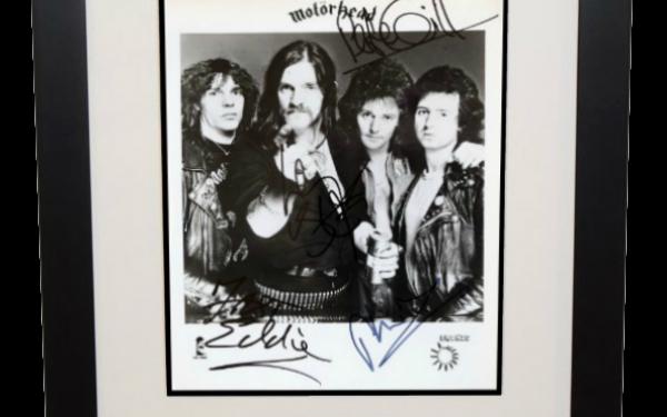 Motorhead Signed 8×10 Photograph