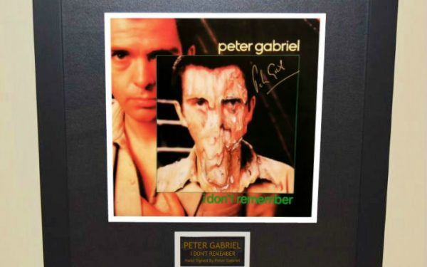 Peter Gabriel – I Don't Remember