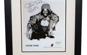 Peter Tosh Signed 8×10 Photograph