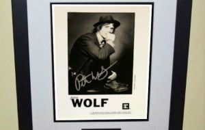 Peter Wolf Signed 8×10 Photograph