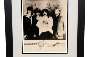 Pretenders Signed 8×10 Photograph