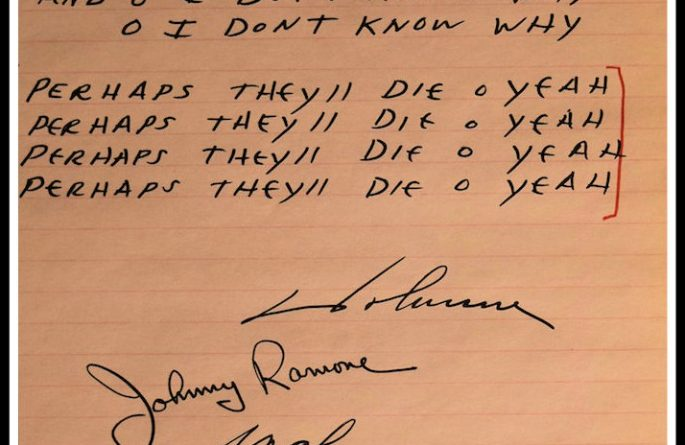 The Ramones – Judy Is A Punk
