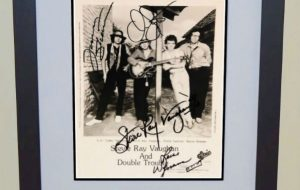 #7 Stevie Ray Vaughan Signed 8×10 Photograph