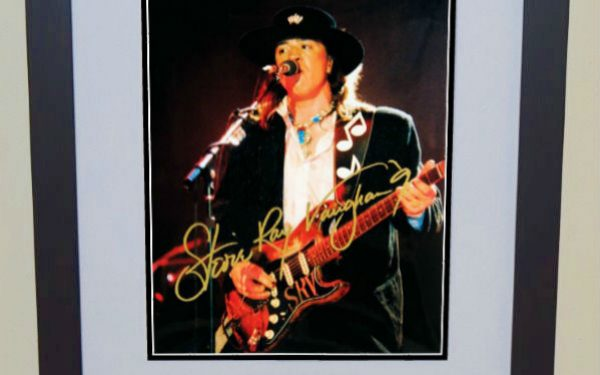 #6 Stevie Ray Vaughan Signed 8×10 Photograph