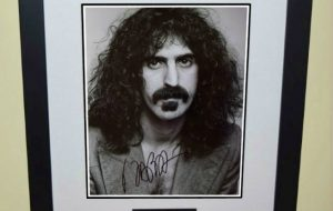 #3 Frank Zappa Signed 8×10 Photograph