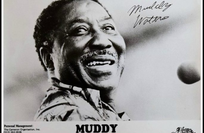 Muddy Waters Signed 8×10 Photograph