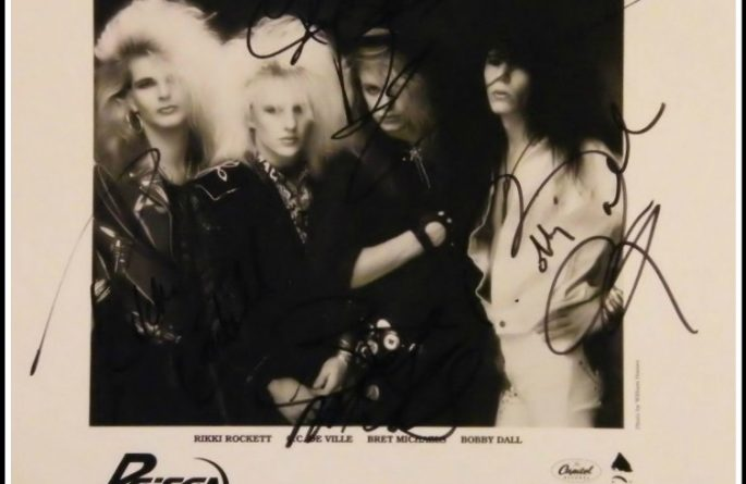 #1 Poison Signed 8×10 Photograph