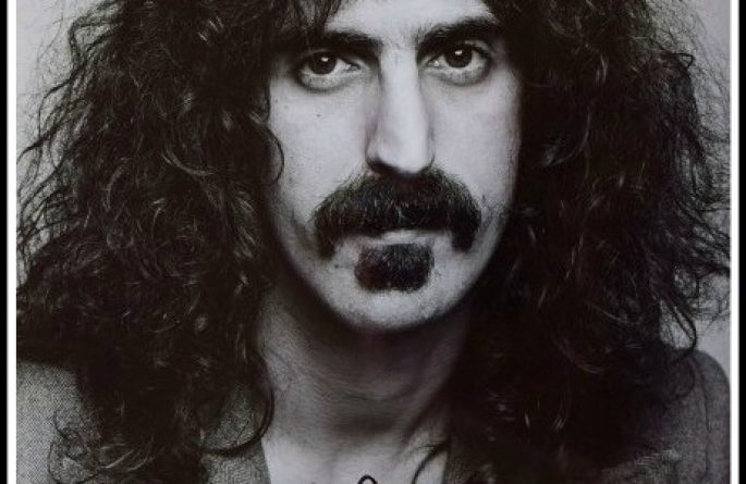 #3 Frank Zappa Signed 8×10 Photograph
