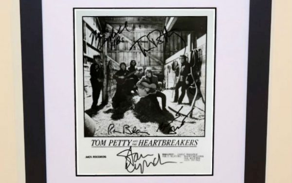 #5-Tom Petty Signed 8×10 Photograph