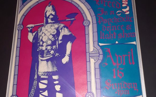 Vintage Concert Poster – Big Brother And The Holding Company