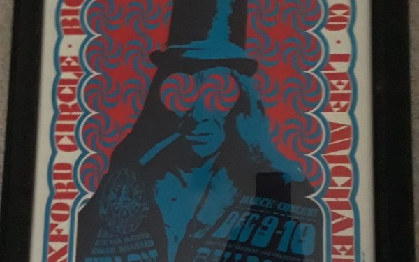 Vintage Concert Poster – Big Brother & The Holding Company