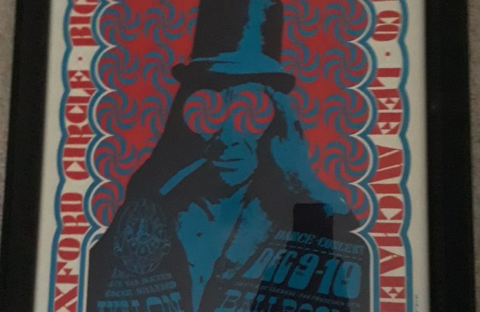 #4 Big Brother & The Holding Company – Vintage Concert Poster