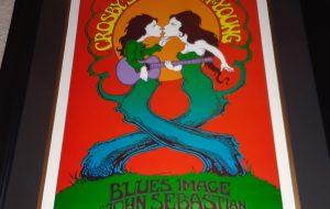 Crosby, Stills, Nash & Young – Vintage Concert Poster