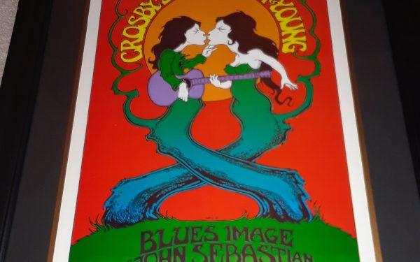 Vintage Concert Poster – Crosby, Stills, Nash & Young