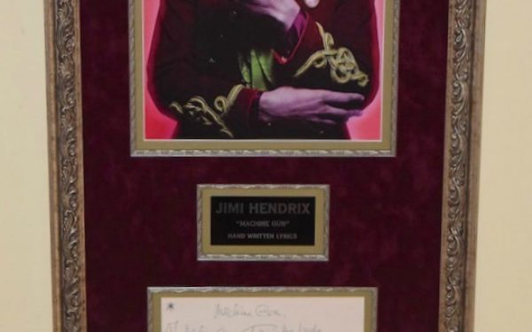 Jimi Hendrix – Photograph & Lyrics