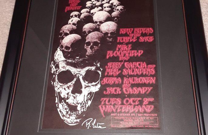 Jerry Garcia – Vintage Concert Poster