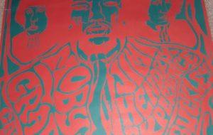 Jimi Hendrix – Vintage Concert Poster