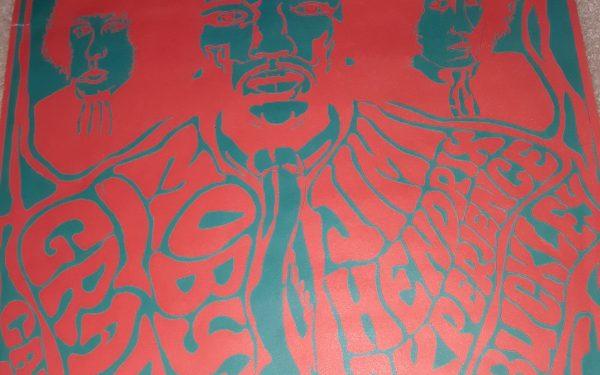 Vintage Concert Poster – Jimi Hendrix
