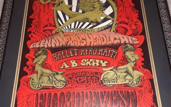 Jefferson Airplane – Vintage Concert Poster
