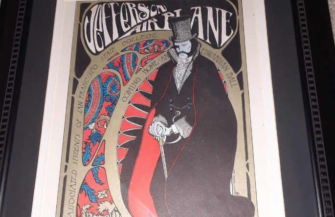 Vintage Concert Poster – Jefferson Airplane