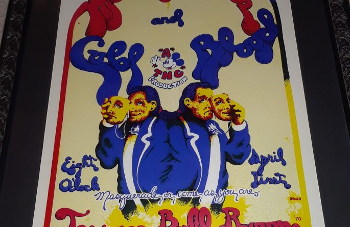 Vintage Concert Poster – The Moody Blues