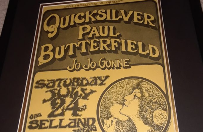 Vintage Concert Poster – Quicksilver