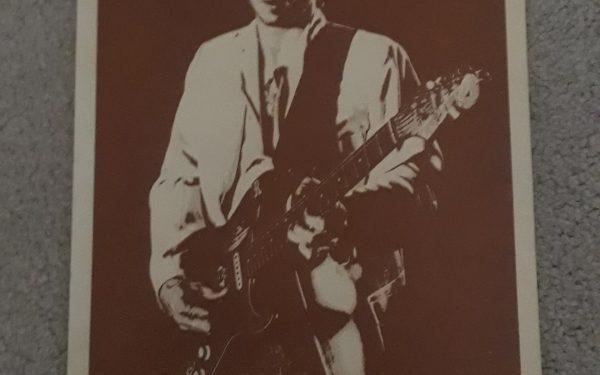 Stevie Ray Vaughan – Vintage Concert Poster