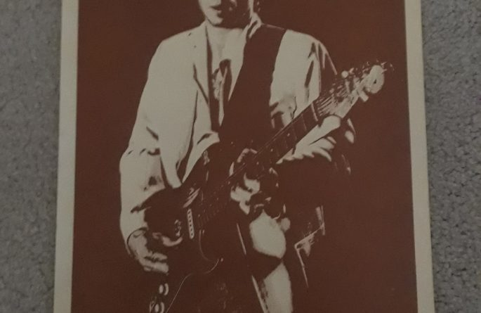 Stevie Ray Vaughan – Vintage Concert Poster
