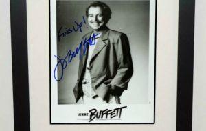 #4-Jimmy Buffett Signed 8×10 Photograph