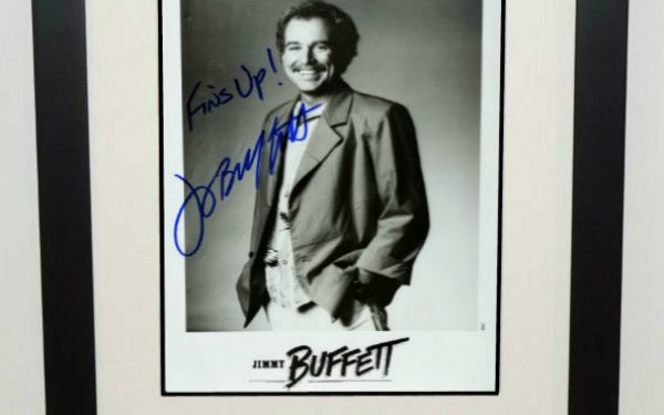 #4-Jimmy Buffett Signed 8×10 Photograph