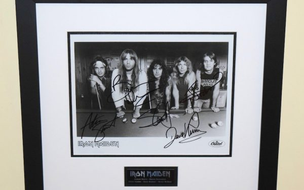 #2-Iron Maiden Signed 8×10 Photograph