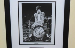 #5-Prince Signed 8×10 Photograph
