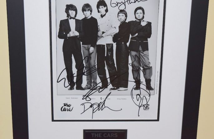 Cars Signed 8×10 Photograph