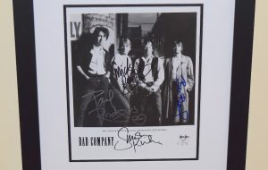 Bad Company Signed 8×10 Photograph