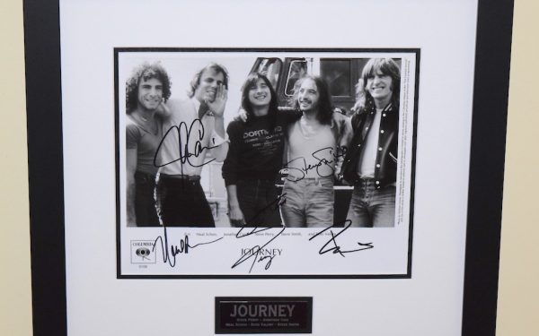 Journey Signed 8×10 Photograph