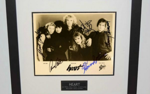 #1-Heart Signed Photograph