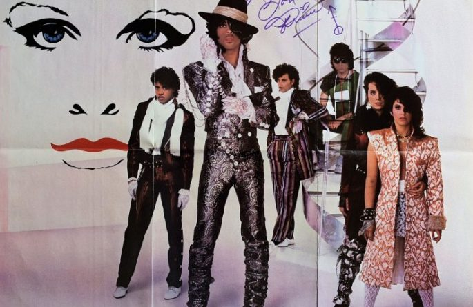 Prince Signed Poster