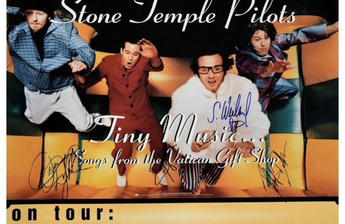 Stone Temple Pilots Signed Poster