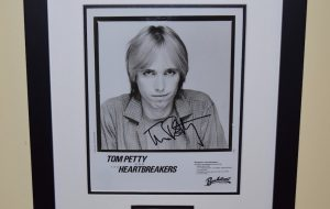 #7-Tom Petty Signed 8×10 Photograph