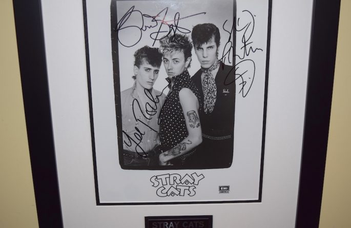 Stray Cats Signed 8×10 Photograph