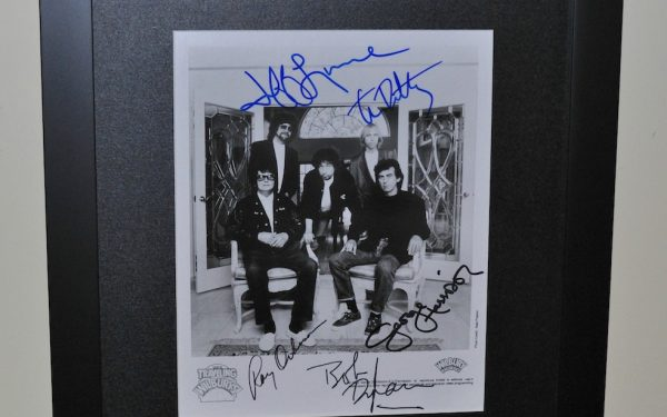 Traveling Wilburys Signed 8×10 Photograph