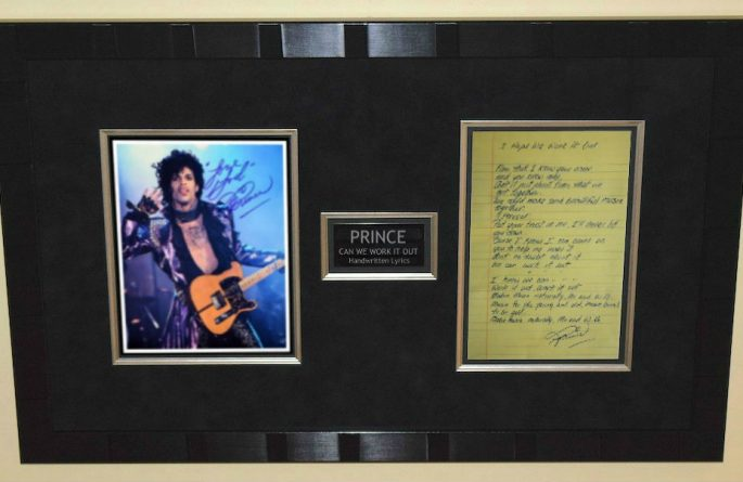 Prince – We Can Work It Out