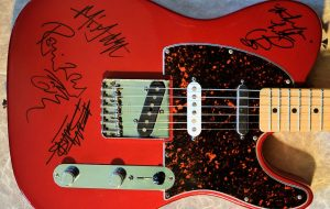 Rolling Stones Red Fender Telecaster