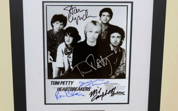 #8 – Tom Petty Signed Photograph