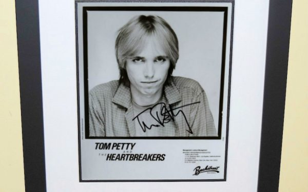 #7- Tom Petty Signed Photograph
