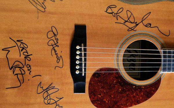 Traveling Wilburys Goya Acoustic Guitar
